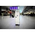 Swissair Airline Trolley White