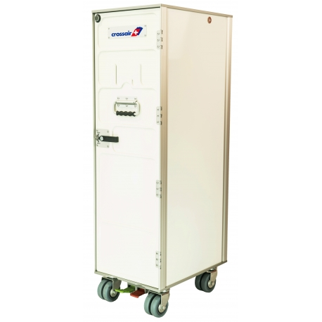 Crossair Airline Trolley White