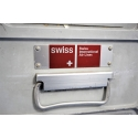 "Original Airline Trolley ""Swissair"" Aluminium, Einzelstück"
