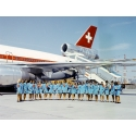 Swissair Airline Trolley White